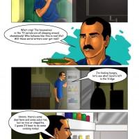 Page 14 Image 1480046.th Savita Bhabhi Episode 15 : Ashok at Home