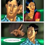 Page 17 Image 16.th - Savita Bhabhi Episode 4 : Visiting Cousin