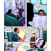 Page 6 Image 61a8c4.th Savita Bhabhi Episode 15 : Ashok at Home