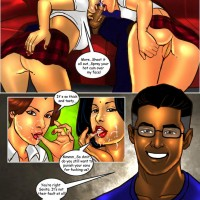 Page 18 Image 170375a.th Savita Bhabhi   Episode 27: The Birthday Bash