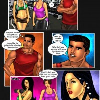 Page 5 Image 4f45e9.th Savita Bhabhi   Episode 20: Sexercise