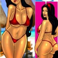 Page 6.th Savita Bhabhi Episode 33: Sexy Summer Beach