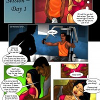 Page 7 Image 69facb.th Savita Bhabhi Episode 30: Sexercise   How it All Began!