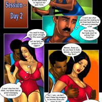 Page 8 Image 7ab6c8.th Savita Bhabhi Episode 30: Sexercise   How it All Began!
