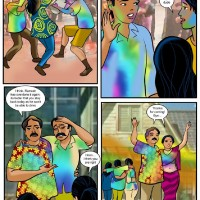 "18d4bbd.th Velamma Comics Episode 8 : Holi – ""The festival of colors and…"""