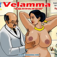 "0Cover31d96.th Velamma Episode 44 : ""The Real Doctor Will See You Now"""