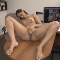 Indian High Class Escort Girl Nude Photos 5.th Beautiful Indian Secretary Nude In Office Exposing Big Ass & pussy