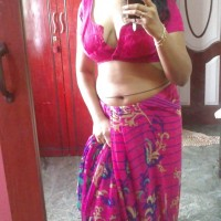 Hot Indian Bhabhi Naked Self Shot Pics 1.th hot indian wife taking topless selfie of huge boobs for lover