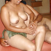 4401000.th Nude indian aunty masti with lover boobs pressing
