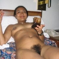 da159f160115794.th Manipur wife nude in bed showing hairy pussy and boobs