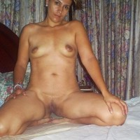 8SNor.th Nude indian wife exposing ass clean shaved pussy and tits