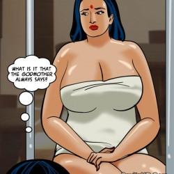 porntcomic velamma 61 pg24.th Velamma Episode 61 – Naked Cleaning
