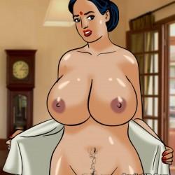 porntcomic velamma 61 pg27.th Velamma Episode 61 – Naked Cleaning