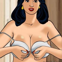 porntcomic velamma 61 pg45.th Velamma Episode 61 – Naked Cleaning