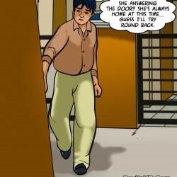 porntcomic velamma 61 pg63.th Velamma Episode 61 – Naked Cleaning