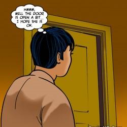 porntcomic velamma 61 pg64.th Velamma Episode 61 – Naked Cleaning