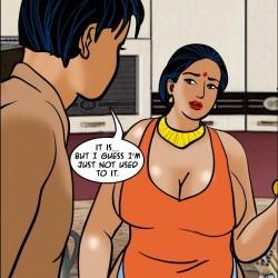 10.th Velamma Episode 61 – Naked Cleaning