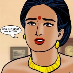 37.th Velamma Episode 61 – Naked Cleaning