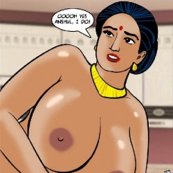146.th Velamma Episode 61 – Naked Cleaning