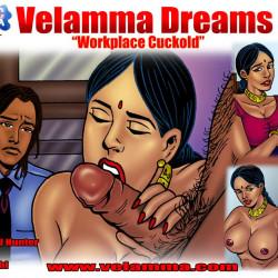 00.th Velamma Dreams Episode 2 : WorkPlace Cuckold
