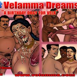 00a2314.th Velamma Dreams Episode 09 : A Birthday Orgy for Vela