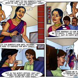 01.th Velamma Dreams Episode 2 : WorkPlace Cuckold