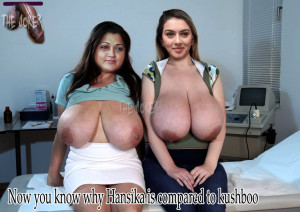 Nude photos Hansika faking