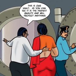 VelammaEpisode6510.th Velamma Episode 65 Trapped in a Bank Vault