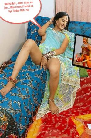 Anushka shetty nude pussy hd