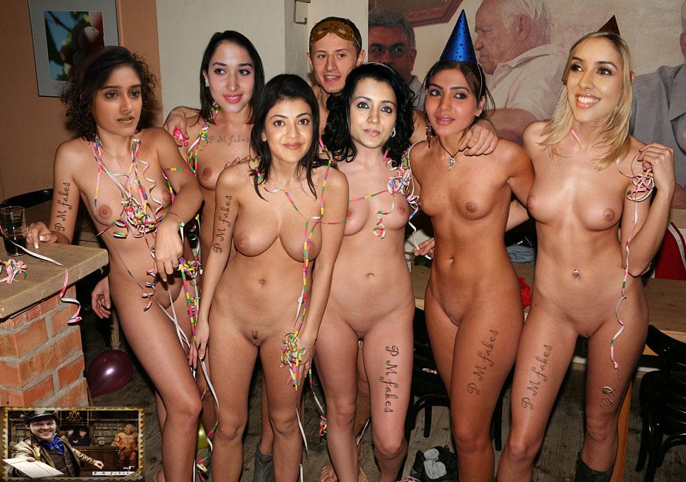 Birthday pussy nude