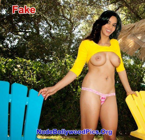 Hot Yellow Saree Anushka Shetty Nude Nipple Without Blouse